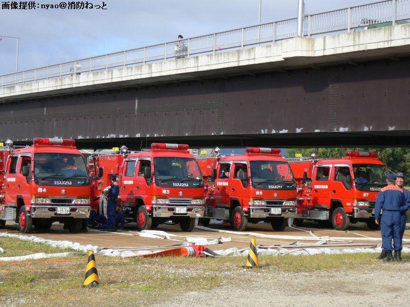 近畿府県合同防災訓練 参加車両